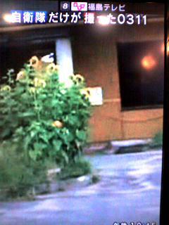 福島テレビで見る、自衛隊だけが撮った0311 20120309 福島県いわき市